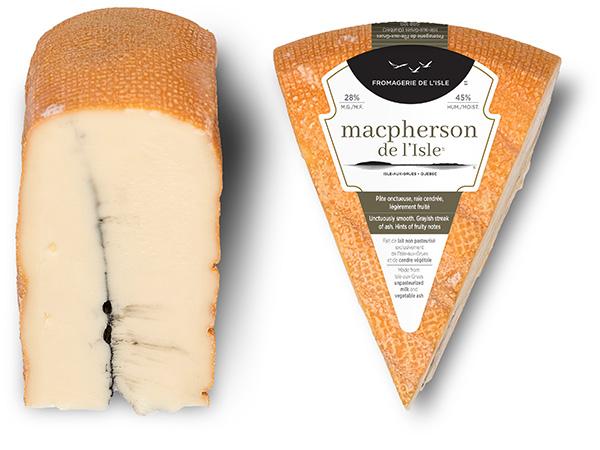 Pointes de fromage du Macpherson de l'Isle