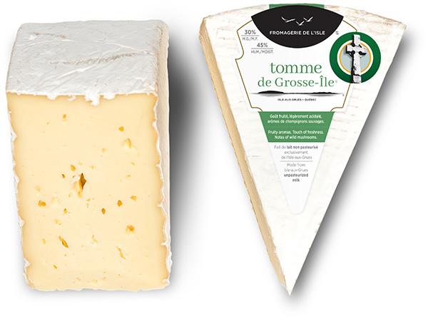 Pointes de fromage de Tomme de Grosse-Île