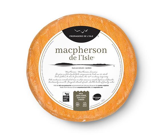 Le Macpherson de l'Isle - Étiquette