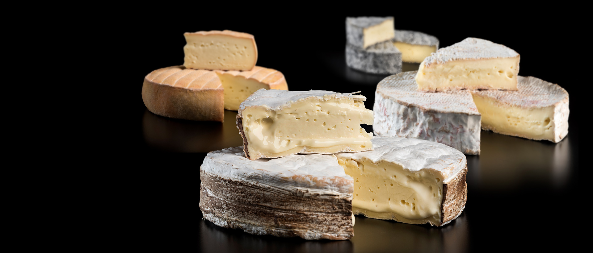 Fromages en meule de la fromagerie de l'Isle-Aux-Grues
